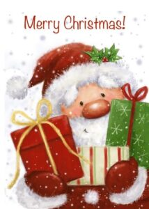 Merry Christmas Santa presents